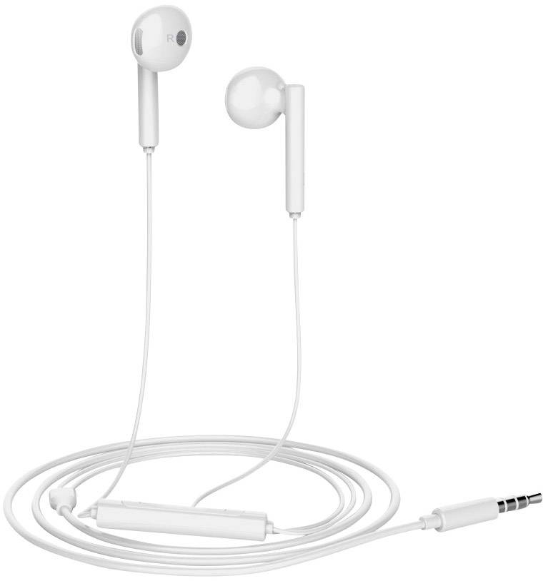 10 kusů sluchátek Huawei Stereo Headset White AM 115 3,5mm jack