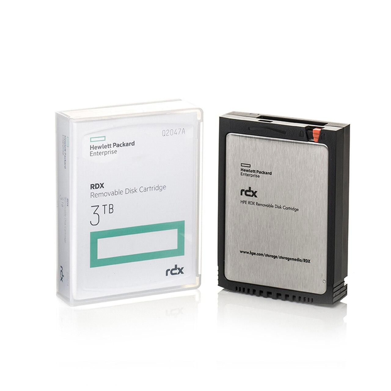 HPE Q2047A RDX 3TB Removable Disk Cartridge