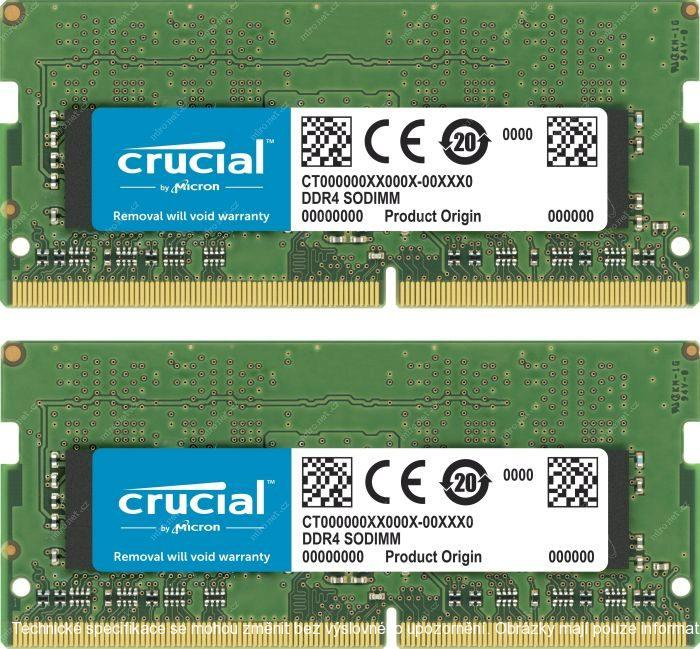 Crucial Memory for Mac 32GB(2x16GB) 2666 MHz