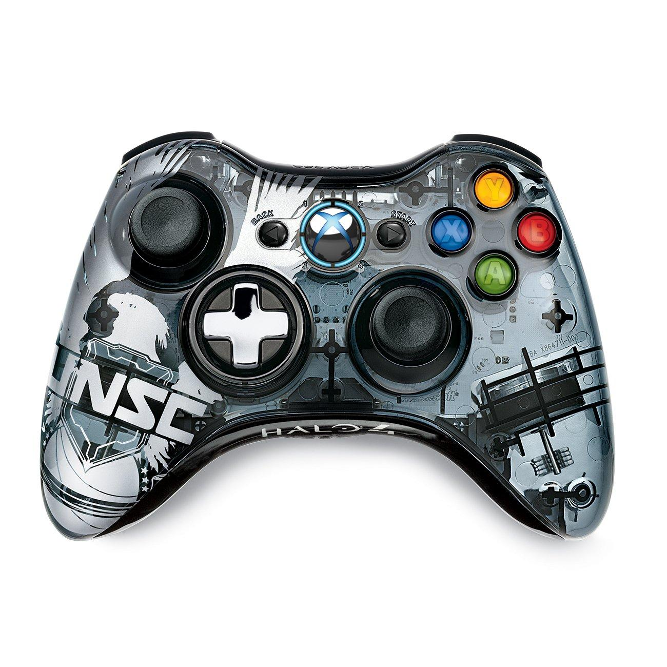 Microsoft Halo 4 Forerunner Limited Edition Wireless Controller grey