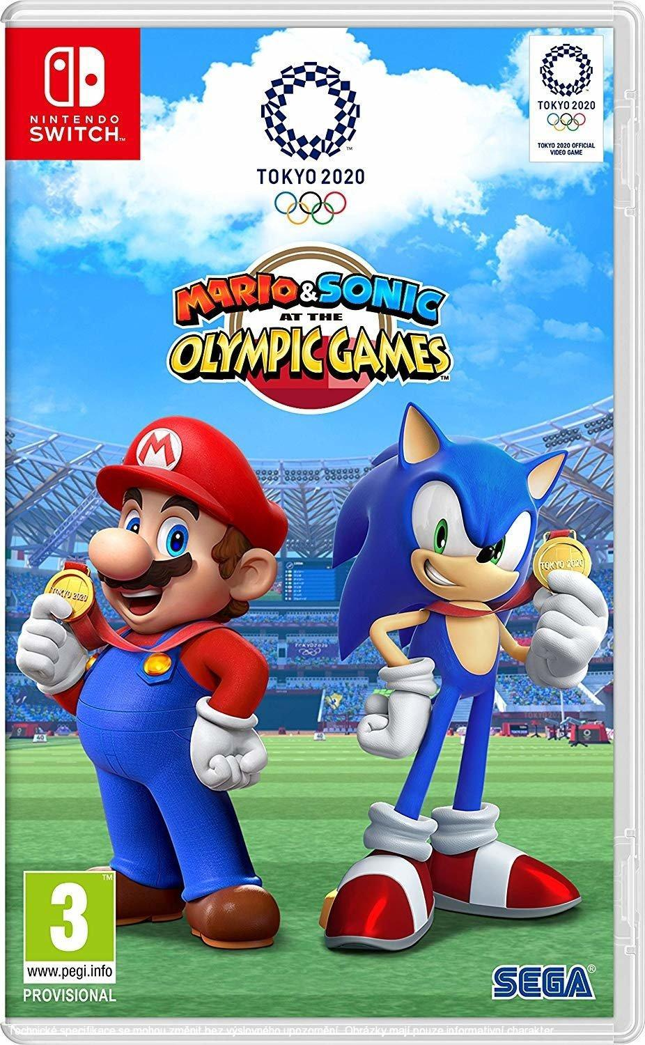 Mario and Sonic at the Olympic Games Tokyo 2020 (SWITCH)  045496424916