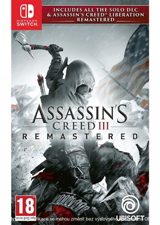 Assassins Creed 3 + Liberation Remaster SWITCH