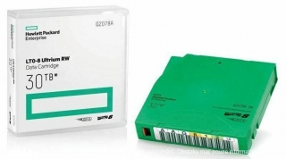 HPE Q2078A LTO-8 Ultrium RW Data Cartridge 30TB