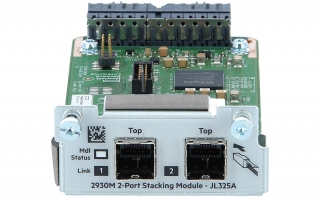 HPE - JL325A - Aruba 2930 2-port Stacking Module - Switch - 2-Port