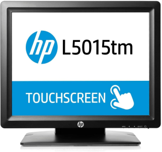 HP L5015 tm Touch Monitor, center